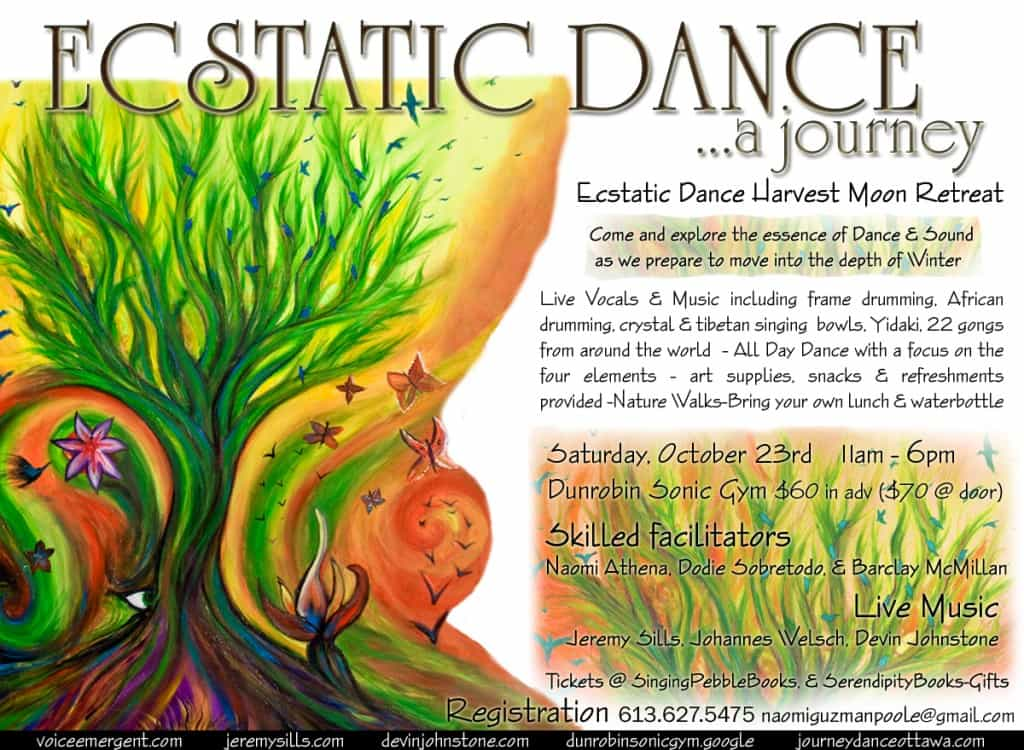 Ecstatic Dance Harvest Moon Retreat