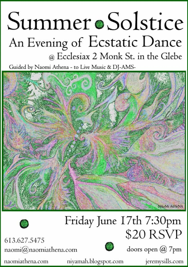 Summer Solstice – Evening of Ecstatic Dance 17/6/2011