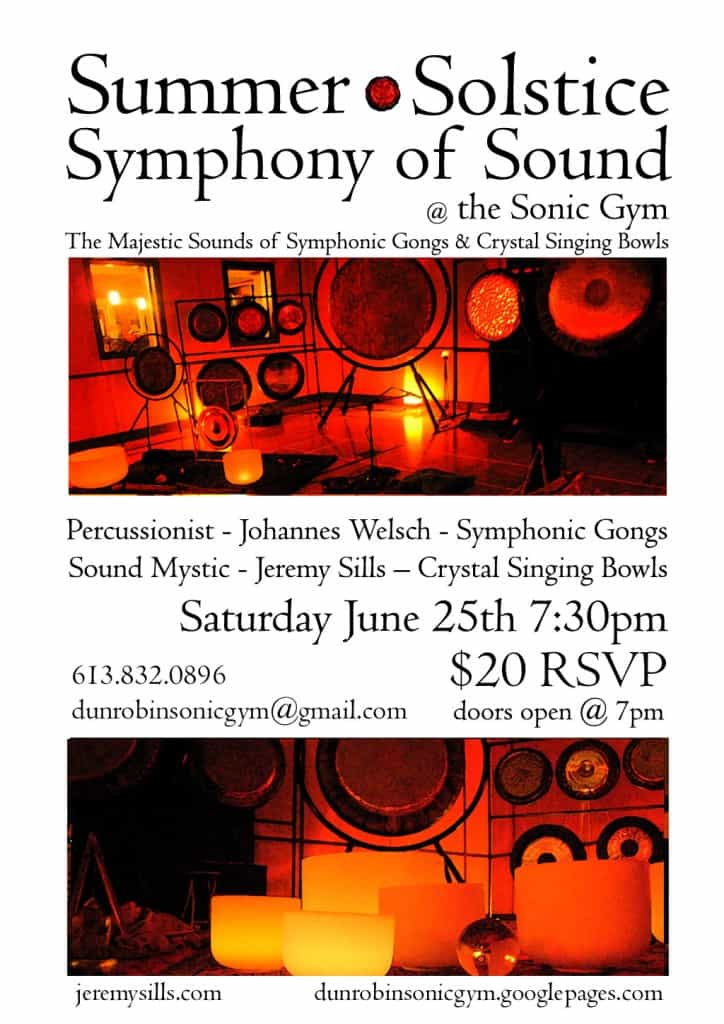 Summer Solstice CONCERT – Symphony of Sound 25/6/2011