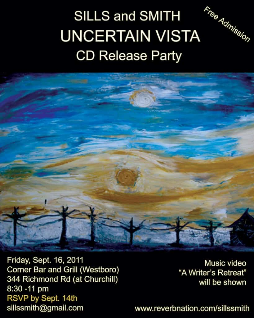 Uncertain Vista CD Release Sills&Smith