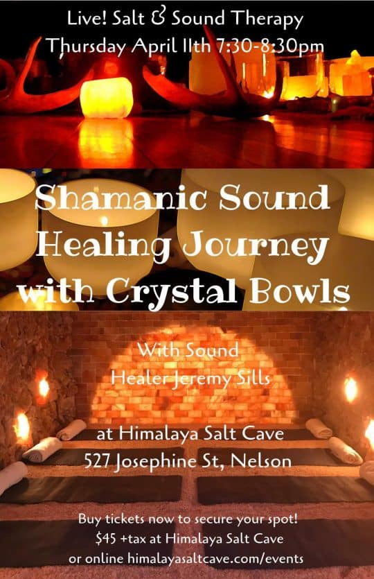Sound Healing at Himalaya Salt Cave