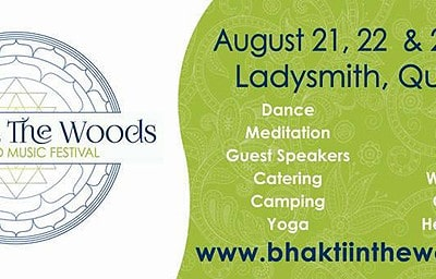 bhakti in the woods 2015
