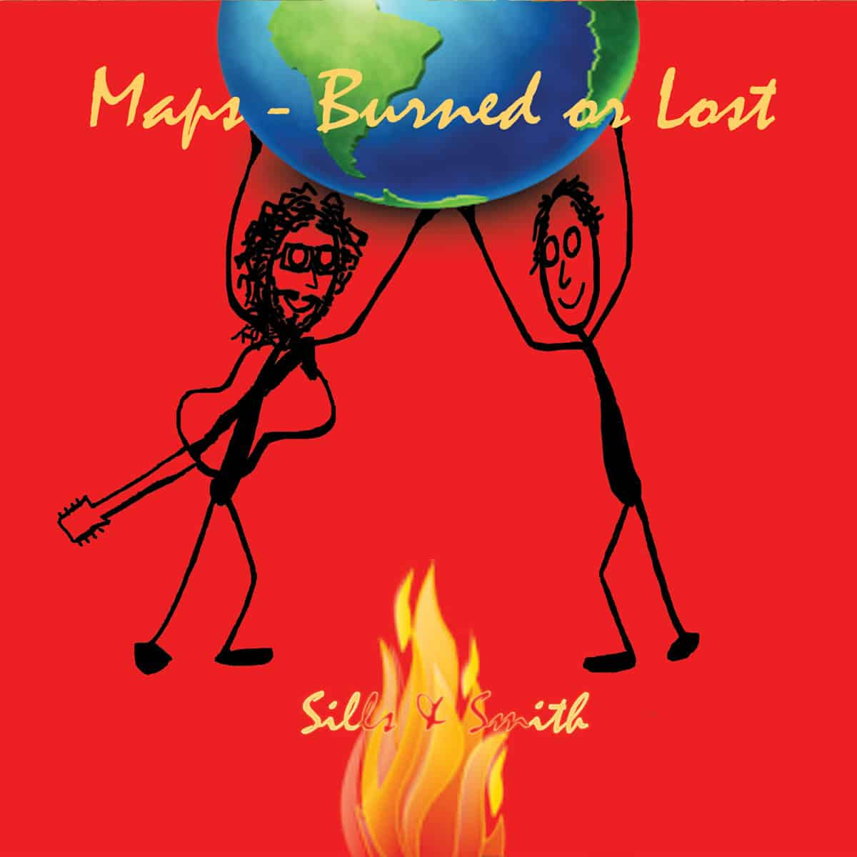 Maps ~ Burned or Lost by Sills & Smith