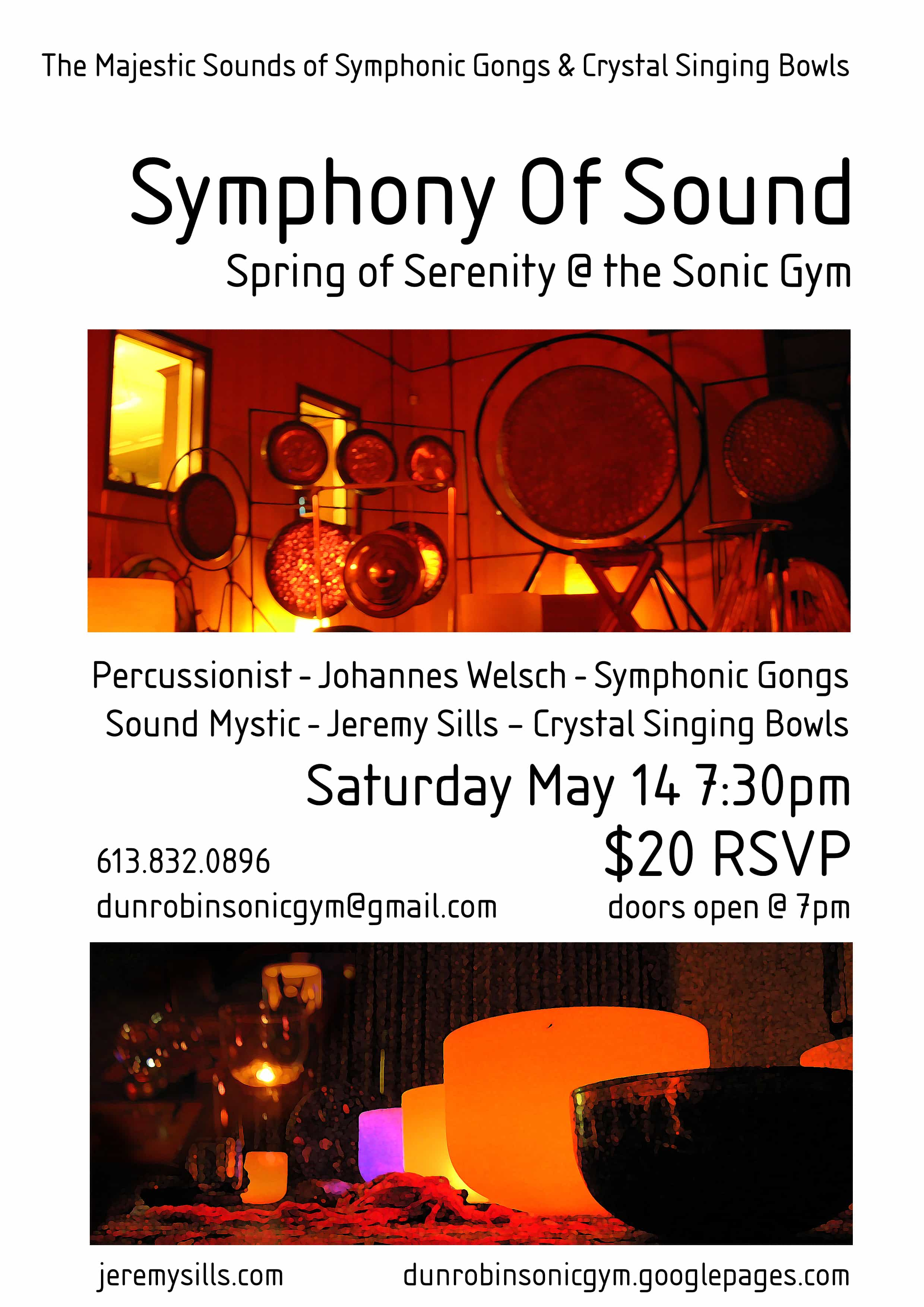 CONCERT – Symphony of Sound 14/5/2011