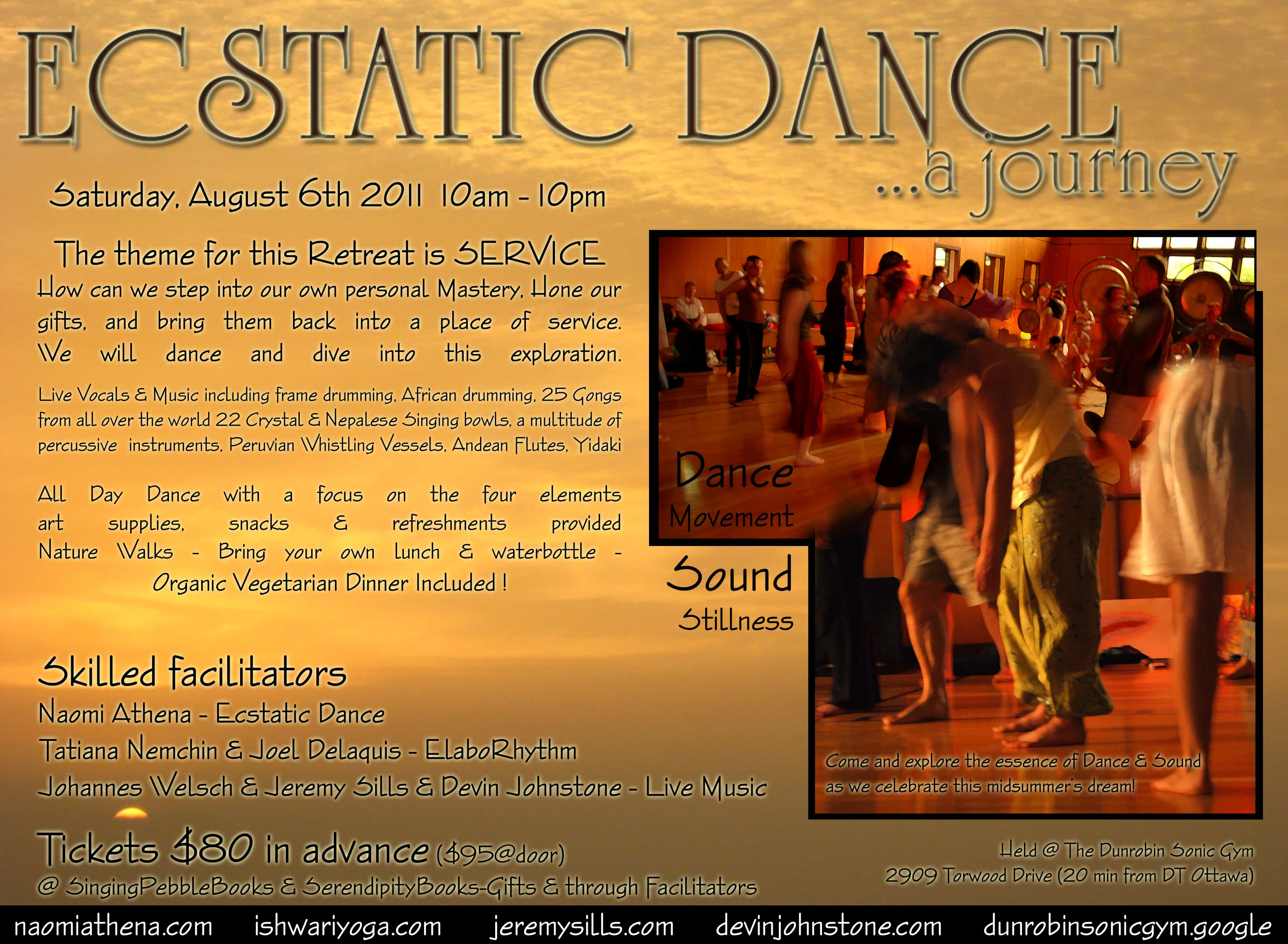 Ecstatic Dance ONE Day Retreat