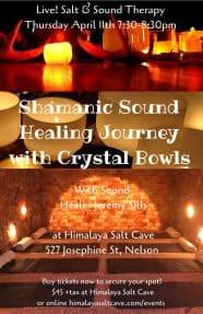 Sound Healing at Himalaya Salt Cave