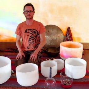 jeremy sills crystal singing bowls